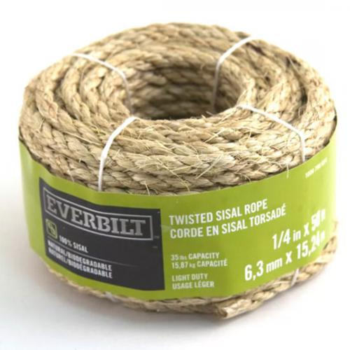 1/4 Inch Rope